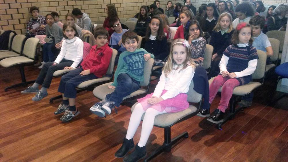 Audição da classe piano, professora Madalena Reis