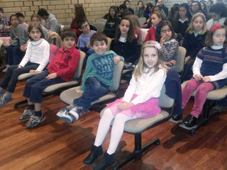 Classe de piano da professora Madalena Reis