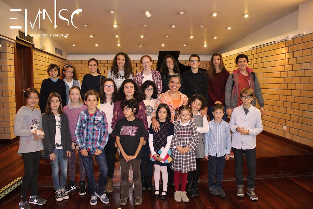 Os pianistas da Professora Leonor Cardoso