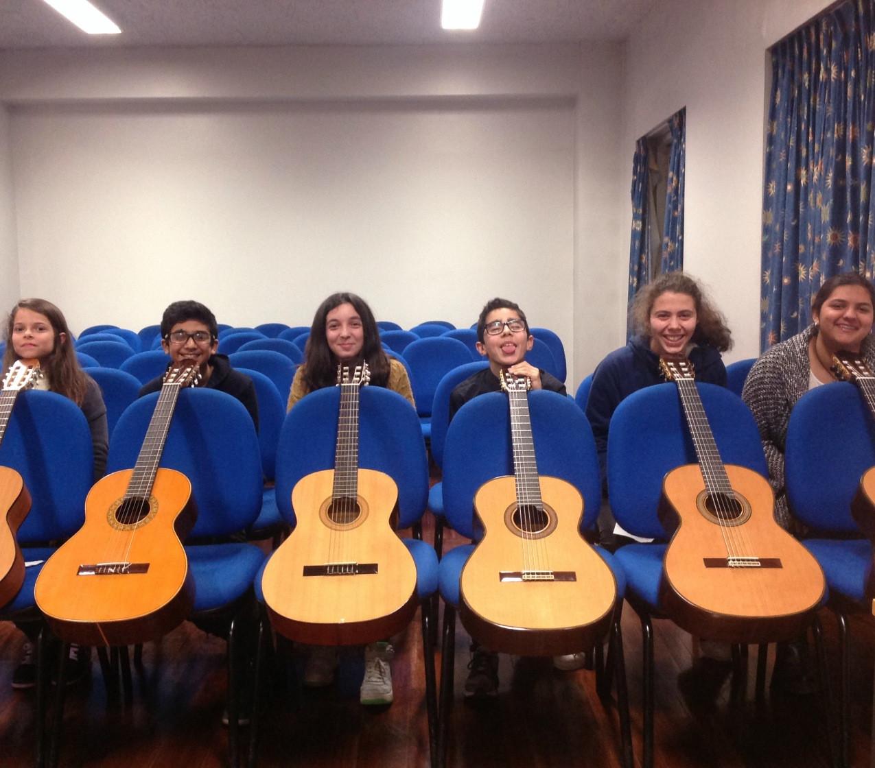 Audição de guitarra