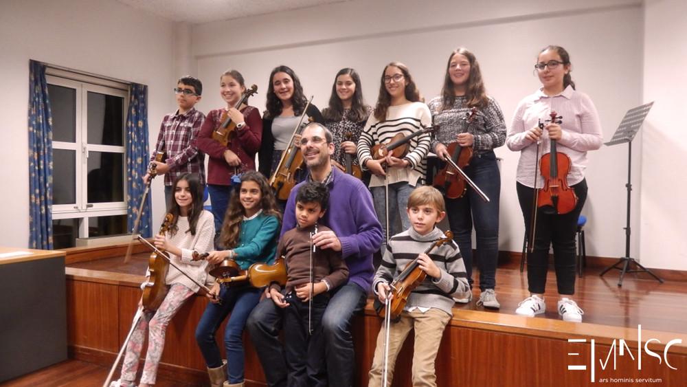 Audição de Violino EMNSC