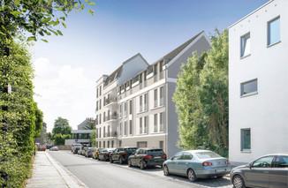 Straßenansicht, Haus Konkordia, BRAUN LIVING GmbH