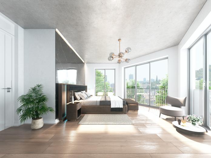 Schlafzimmer, Haus Konkordia, BRAUN LIVING GmbH