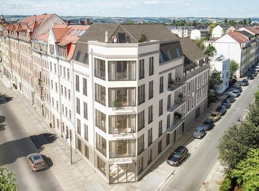 Luftperspektive, Haus Konkordia, BRAUN LIVING GmbH