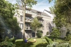 Hofansicht, Haus Konkordia, BRAUN LIVING GmbH