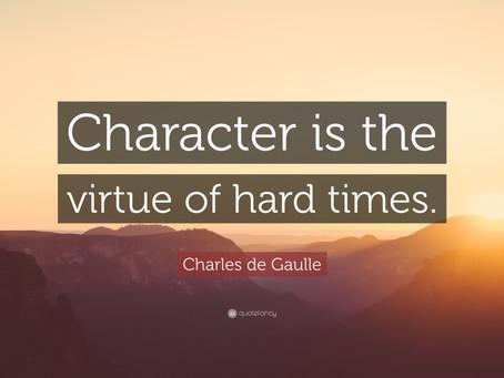 Evangelicals & Character
