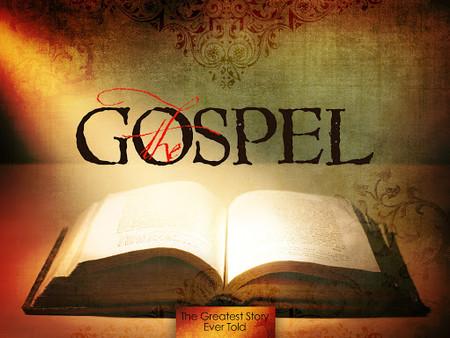 Evangelicals & The Gospel