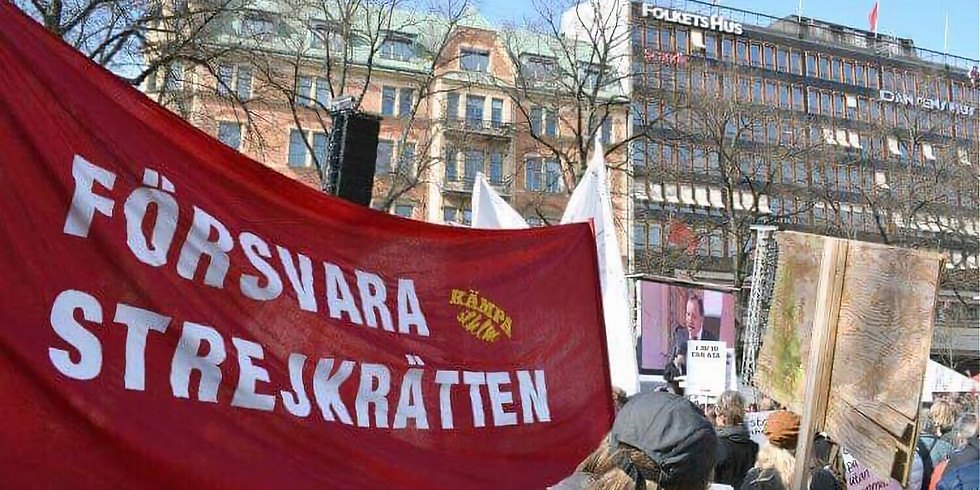 Stockholm: 1 maj med Kämpa STHLM