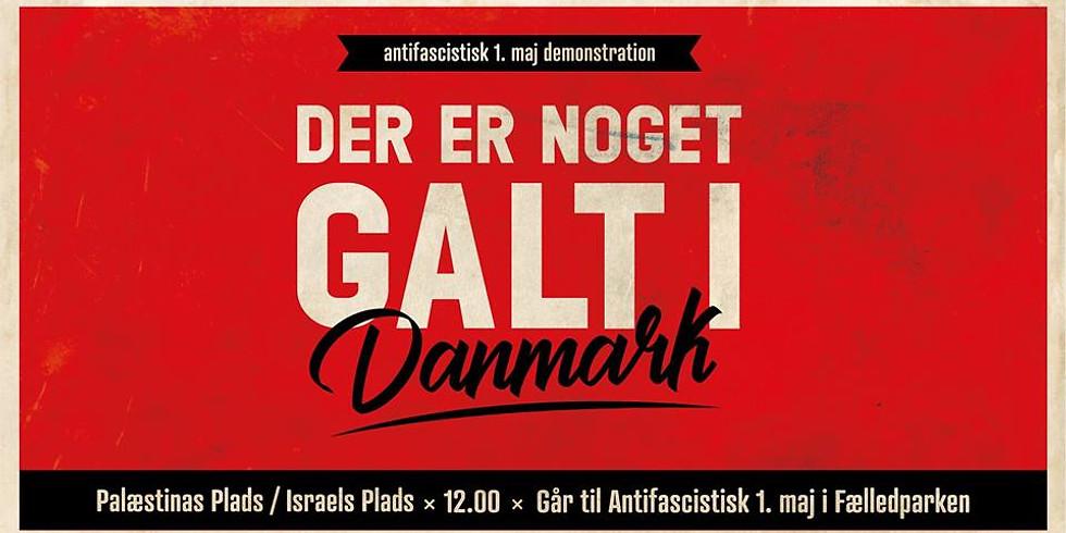 Copenhagen: Antifascist May 1st demonstration