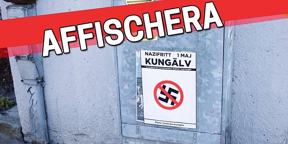 Gothenburg: Affischera inför Nazifritt Kungälv med Framåt Kamrater! 2.0