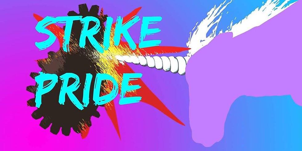 Gothenburg: Banner Party - Strike Pride
