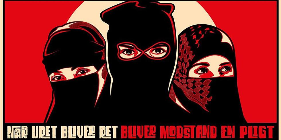Copenhagen: Antifascistisk 1. maj 2019 i fælledparken
