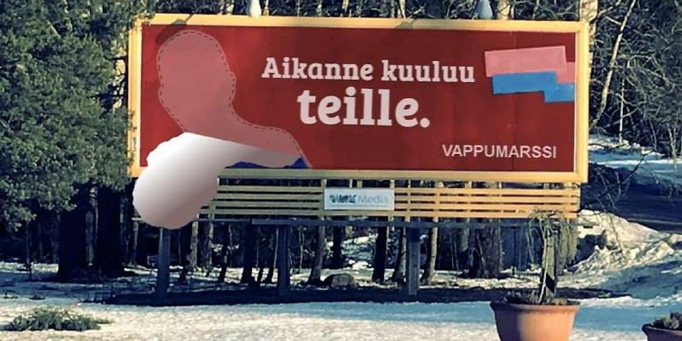 Helsinki: YOUR TIME BELONGS TO YOU