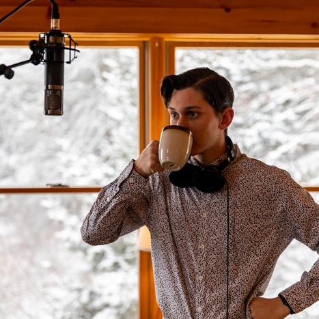 Dan Gallagher recording Studio