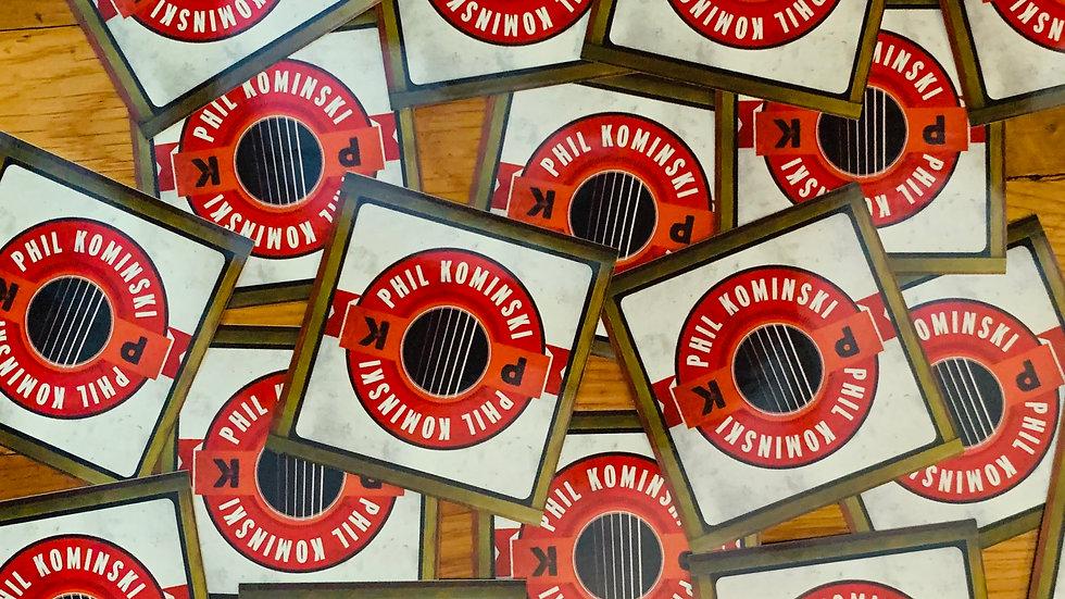 Phil Kominski Square Sticker