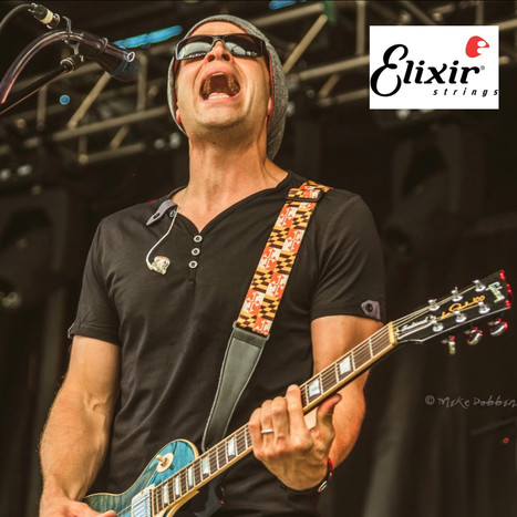 Phil Kominski Elixir Guitar String Spons