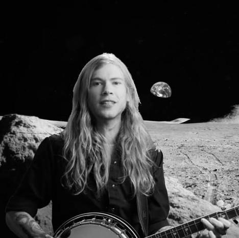 Jacob Panic Banjo on the Moon