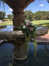 Dominion Country Club Fountain decor