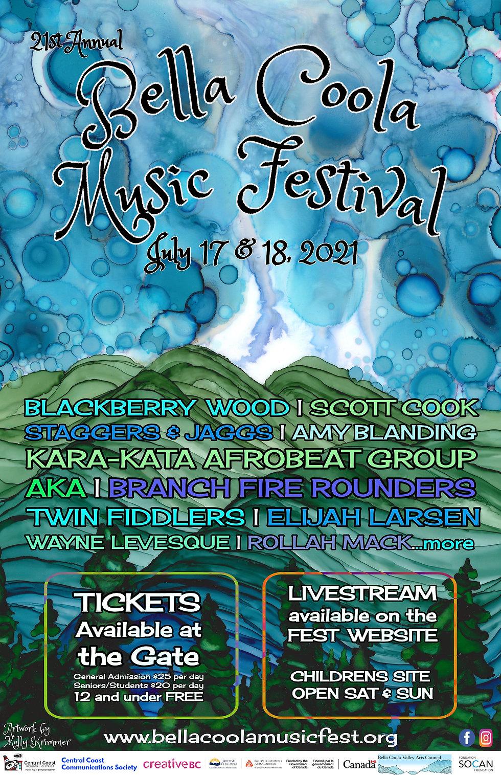 bella coola music festival 2021