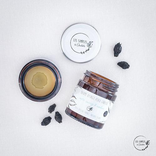 Baume visage peau grasse - myrte sauvage & cameline - 30ml