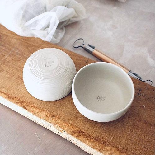 Collaboration - Petit bol en céramique La Poudre