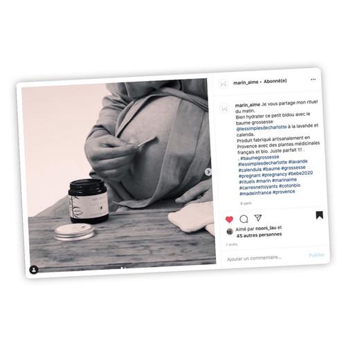 Publication Instagram - Marin Aime