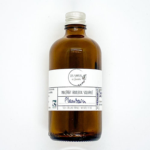 Solar infused oil - plantain