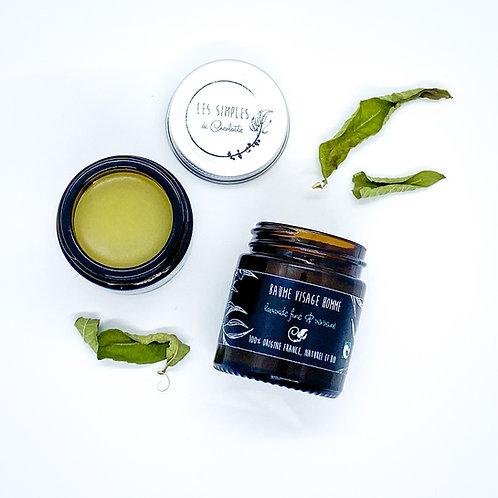 Baume visage homme - lavande fine & verveine  - 30ml