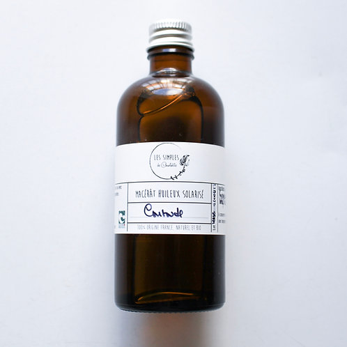 Solar infused oil - comfrey