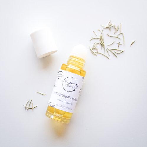 Articular and muscular massage oil 1.76oz - comfrey and juniper