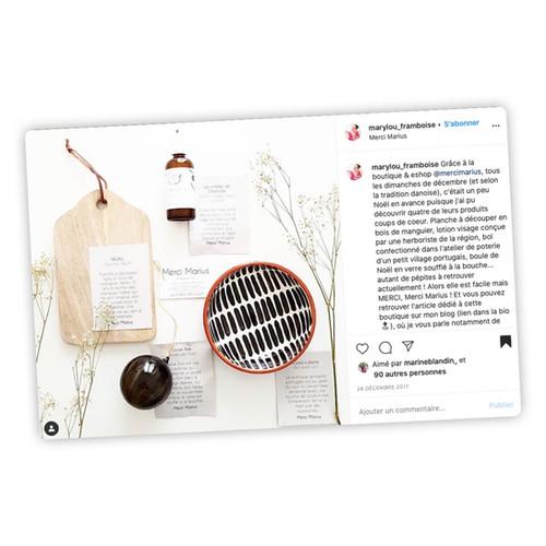 Publication Instagram - Marylou Framboise