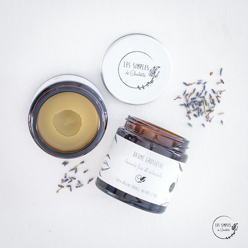 Baume grossesse - calendula & lavande fine - 120ml