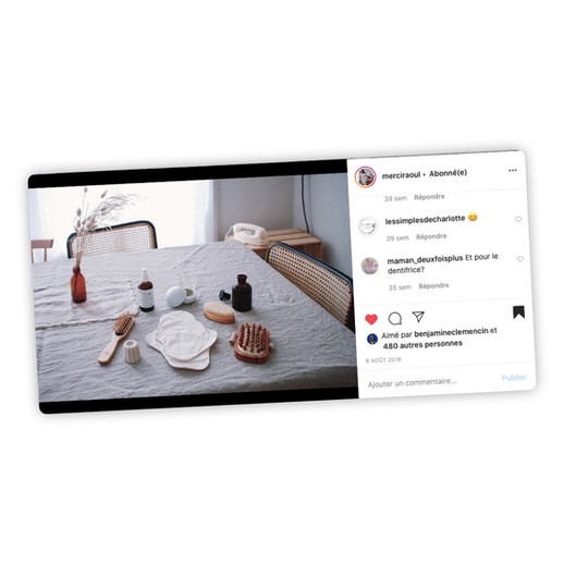 Publication Instagram - Merci Raoul