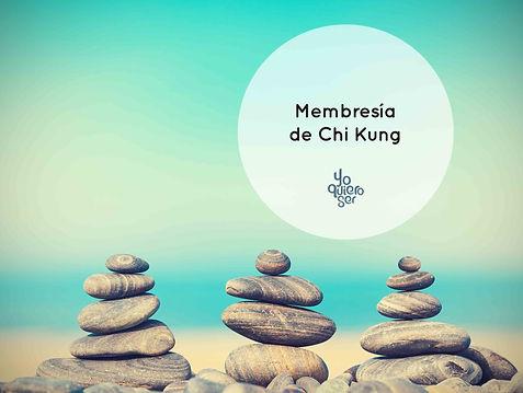 Membresia de chi kung