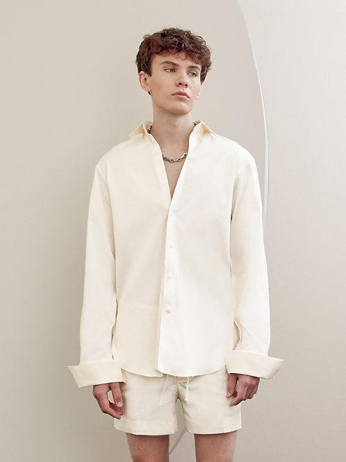 Ivory cotton shirt