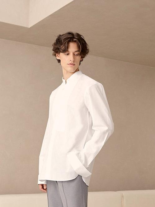 White Oversized Cotton  shirt