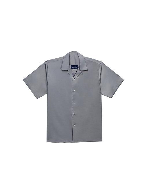 Grey Satin Shirt