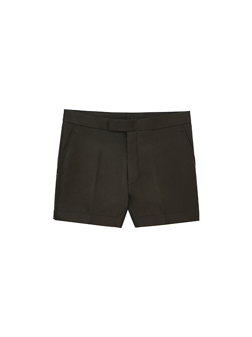 Olive Green Summer Shorts