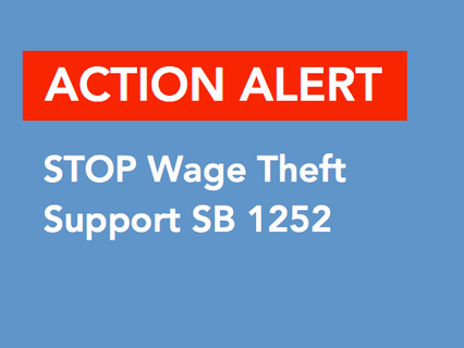ACTION ALERT: Support CRLAF Sponsored SB 1252 (Bradford)
