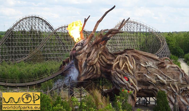 Heide Park Resort - Colossos, Rückkehr einer Achterbahn Legende
