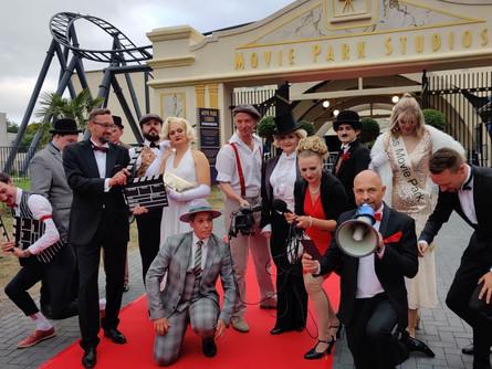 Die Entstehung der Movie Park Studios im Movie Park Germany