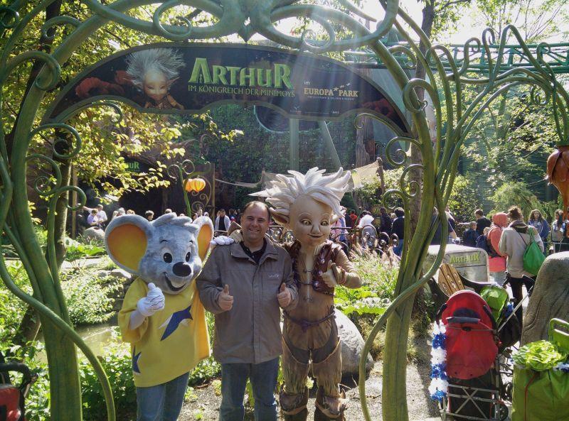 Europa-Park - Arthur - Im Königreich der Minimoys