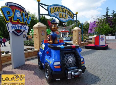 Movie Park Germany 2020 - Weitere PAW Patrol-Attraktion, Lucky Luke-Ride und neuer Laser-Walkthrough