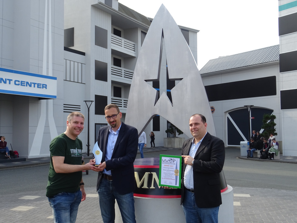 Worldofparks-Award 2017 - Movie Park Germany – Star Trek: Operation Enterprise