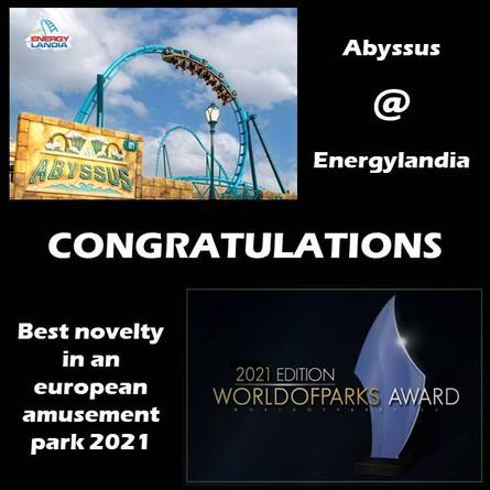 """""""Worldofparks - EU-Voting"""" – Der """"Worldofparks-Award 2021"""""""