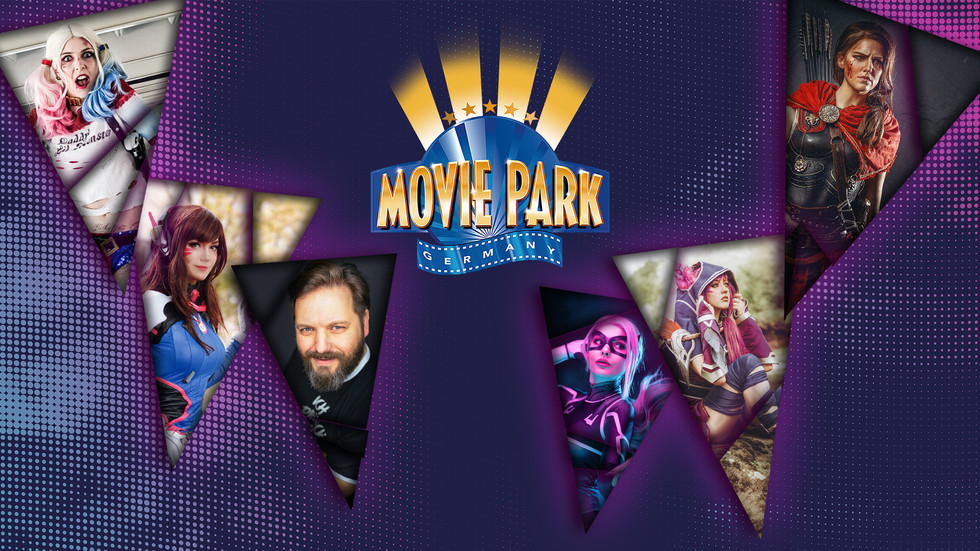 Jetzt wird Hollywood in Germany richtig bunt:  Cosplay Day im Movie Park Germany entführt in eine We