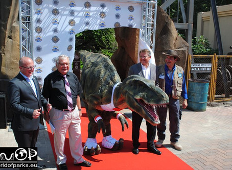 Movie Park Germany - The Lost Temple - Pressepremiere