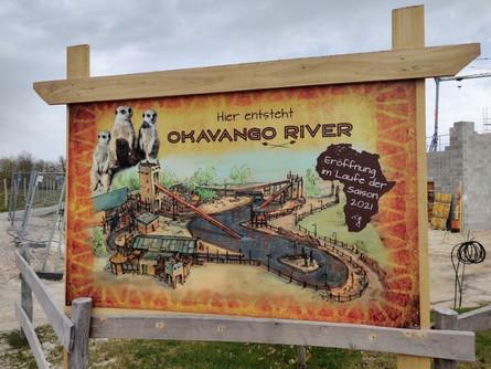 Jaderpark 2021 - 25-jähriges Jubiläum - Baustelle Okavango River