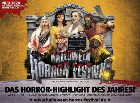 Movie Park Germany - Halloween Horror Festival 2020