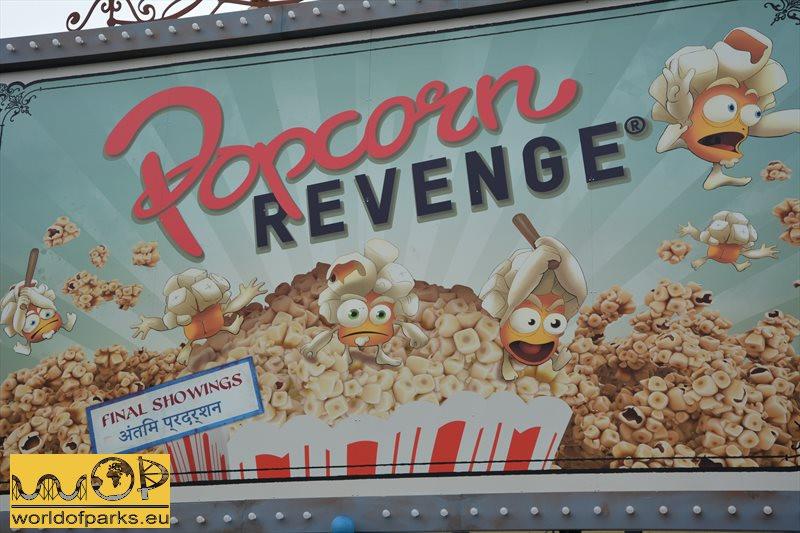 Walibi Belgium - Popcorn Revenge